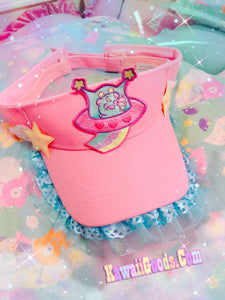Copy Trixie the space alien UFO Visor Hat (Made to Order)