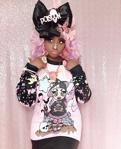 Spooky Party Gianella Baby x Kawaii Goods Collab Sweater (Made to Order)