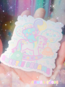 Sweetie Dream Rocking Horse and Trixie Magnet
