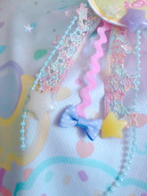 Load image into Gallery viewer, Sweetie Dreams the Unicorn Deco 2-way clip tulle bow