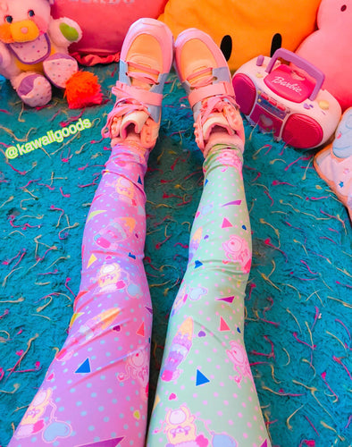 Popples Sweet 80s Yume Leggings (made you order)