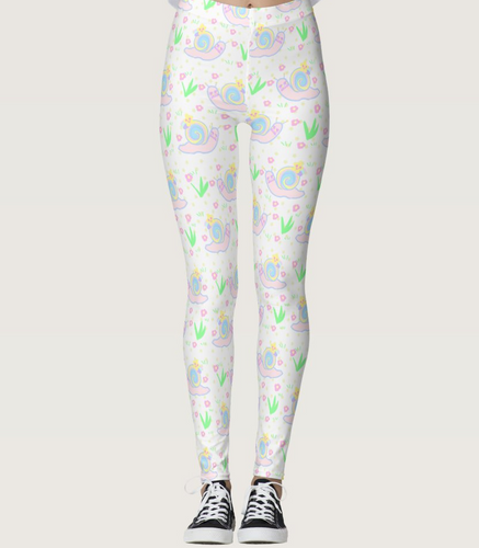 Starry Dreamy Snail Leggings (Made to Order)