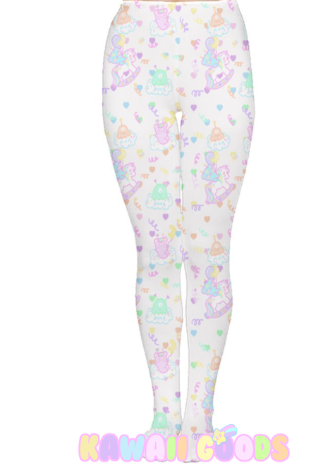 Sweetie Dreams Rocking Horse and Trixie the alien Bear Tights (made to order)