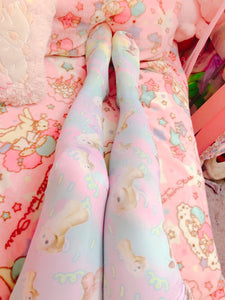 PJ Sparkles Fairy kei tights (Made to Order)