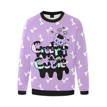 Load image into Gallery viewer, Creepy Cutie Spooky Emotion Bear Sweater (Made to Order)