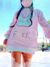 Load image into Gallery viewer, f*ck Bunny Fairy Kei Sweater