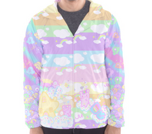 Load image into Gallery viewer, Emotion Bear and Kikko TV wind breaker jacket