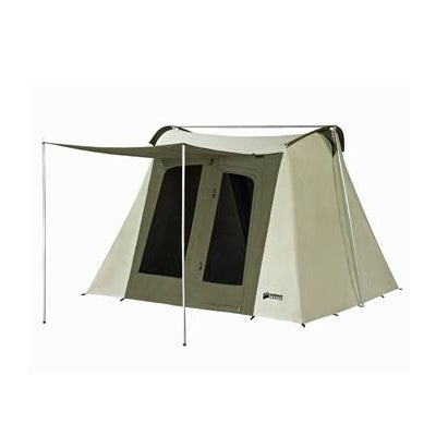 10 x 10 ft.  6-Person Flex-Bow Deluxe Canvas Tent