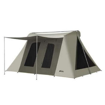 10x14 ft. 8-Person Flex-Bow VX Canvas Tent w/ Tarp