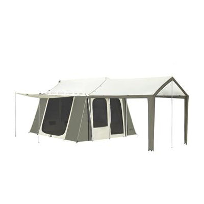 12 x 9 ft. 6-Person Cabin Tent with Deluxe Awning