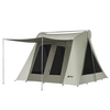 10x10 ft. 6-Person Flex-Bow VX Canvas Tent w/ Tarp