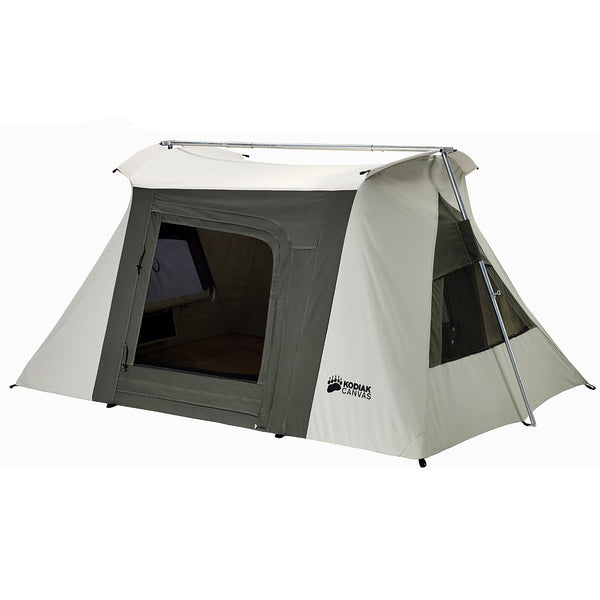 8.5 x 6 ft. 2-Person Flex-Bow VX Canvas Tent by kodiak canvas at keepitoutdoors.com