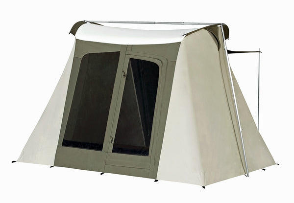 9x8 ft. 4-Person Flex-Bow Canvas Deluxe Tent
