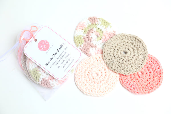Reusable Facial Scrubber Set