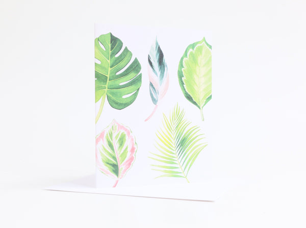 Watercolour Note Card