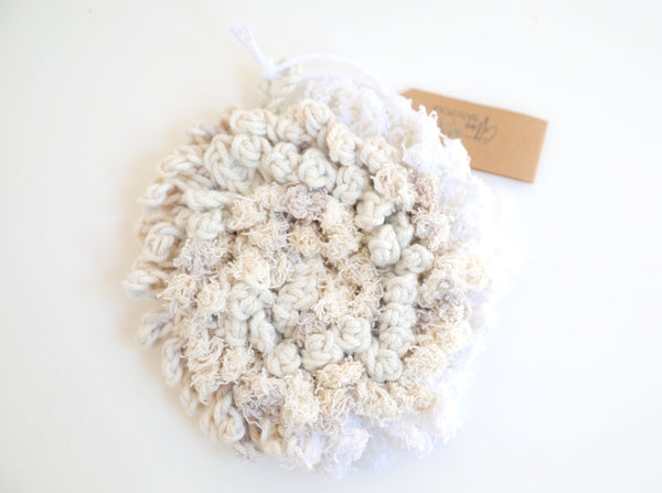 Cotton Shower Pouf