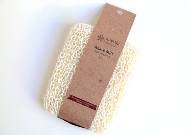 Agave Body Polisher Mitt