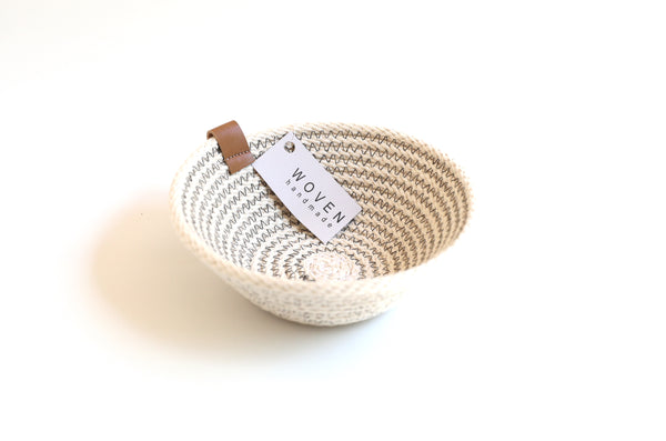 Cotton Rope Artisan Basket