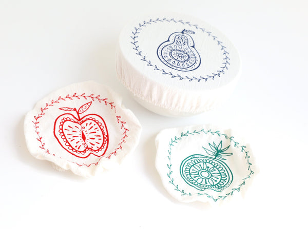 Organic Cotton Bowl Cover (Extra Small x3)