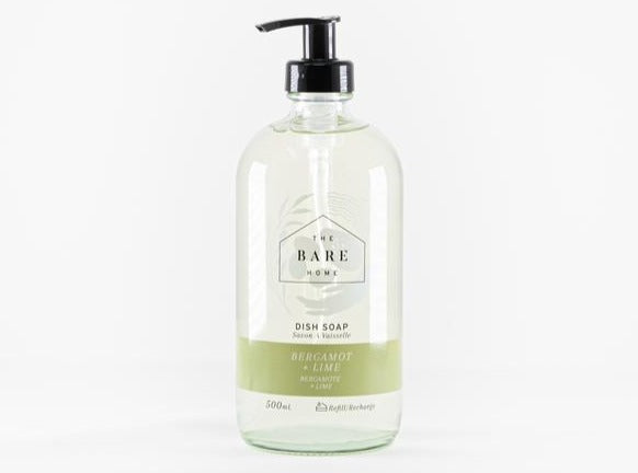The Bare Home Refillable Dish Soap Bottle (500ml)