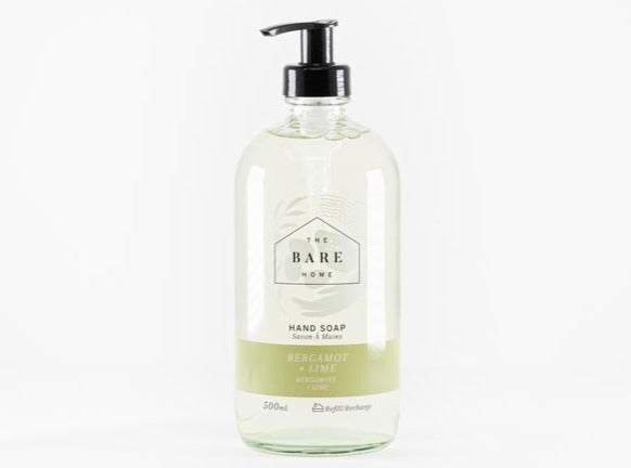Bergamot + Lime Refillable Hand Soap (500ml)