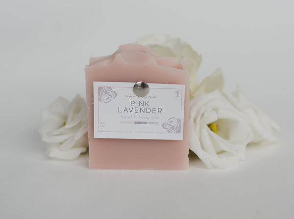 Pink Lavender Soap Bar