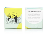 Tea Tree Charcoal Facial Soap Bar
