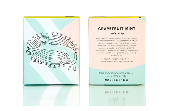 Grapefruit Mint Soap Bar