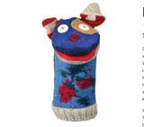Upcycled Wool Hand Puppet