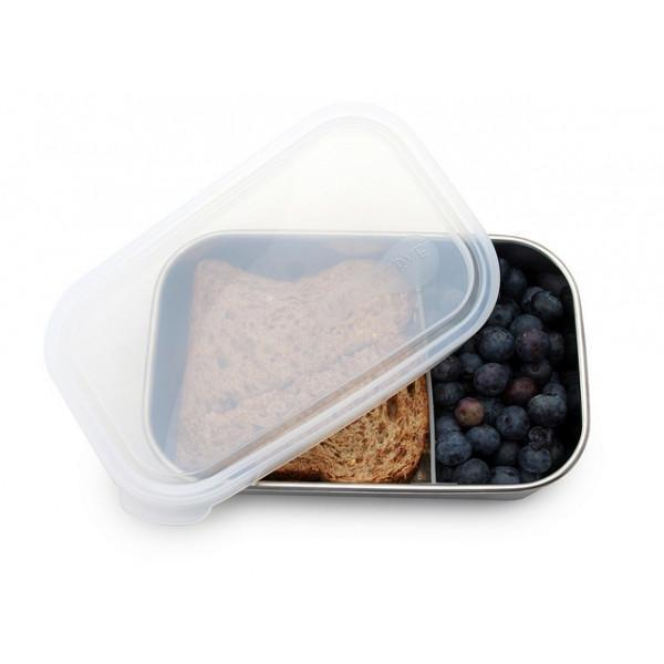25oz Rectangle Divided Stainless Steel Container