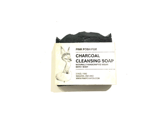 Vegan Charcoal Cleansing Soap Bar