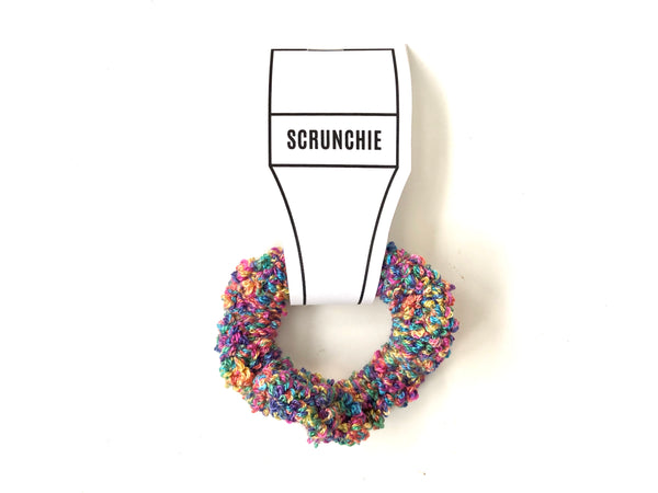 Crocheted Scrunchie