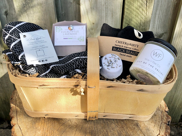 Zero Waste Bath + Body Gift Basket