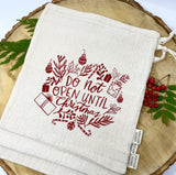 Reusable Gift Bag (Organic Cotton)