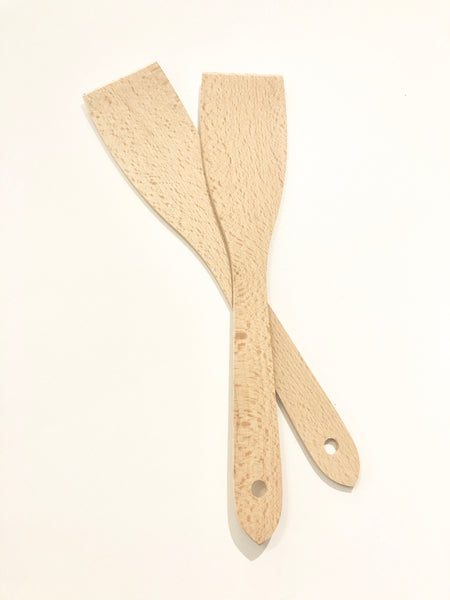Wooden Scraping Spatula