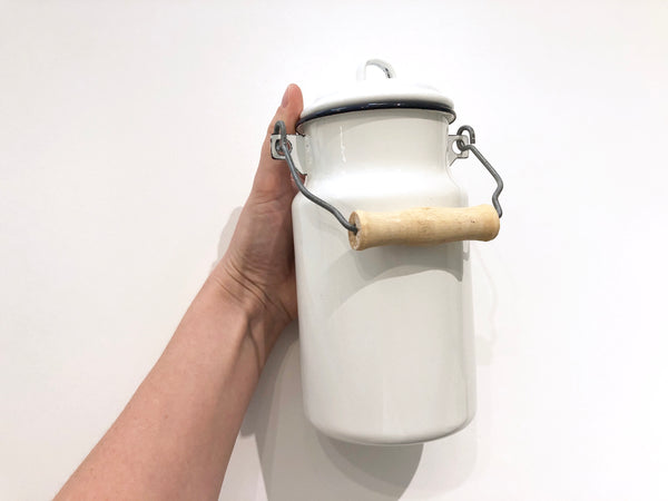Enamel 1L Milk Can