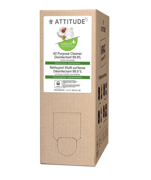 Attitude All Purpose Disinfectant Home Refill Box