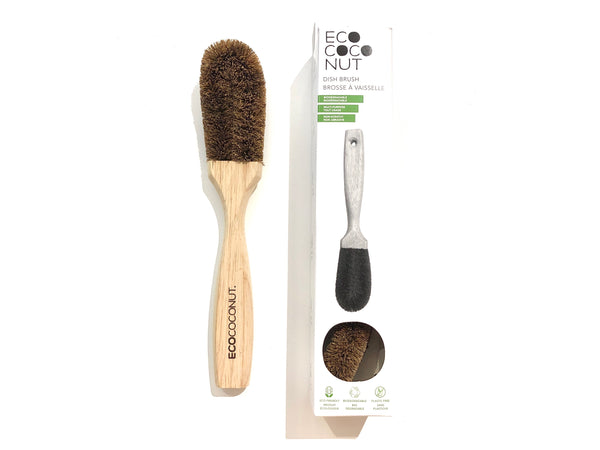Coconut Fibre Dish + Cleaning Brush