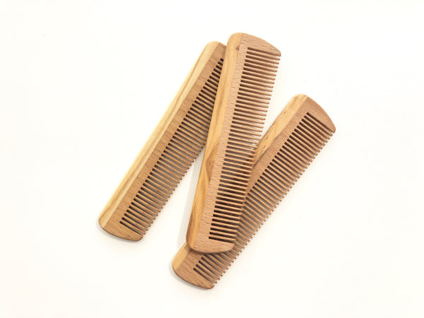 Wood Pocket Comb