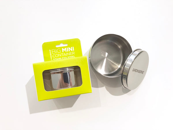 7oz Round Stainless Steel Container