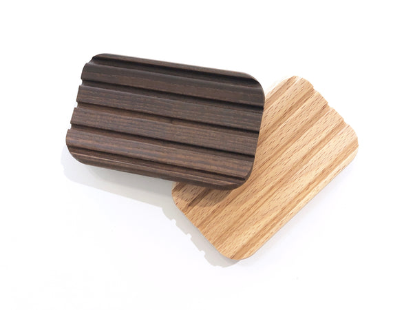 Wooden Slotted Soap Dish
