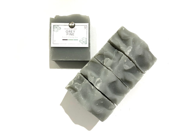 Grey Pine Bar Soap