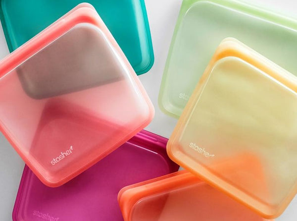 Stasher Silicone Zip Storage Bag