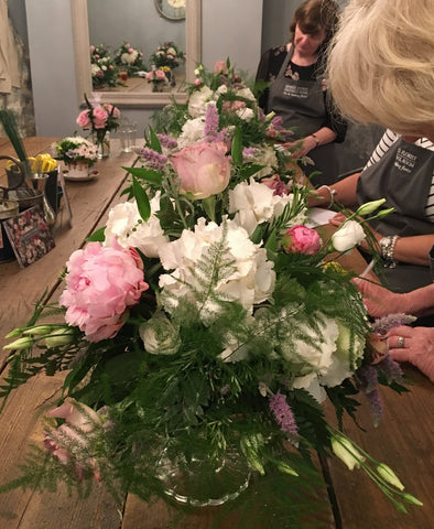 Vintage Flowers Course at Kendalls Florist