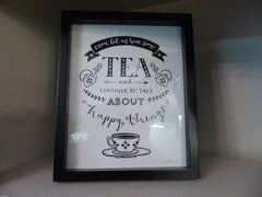 Come Lets Have Some Tea Picture Frame