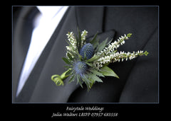 Thistle and Heather Buttonhole