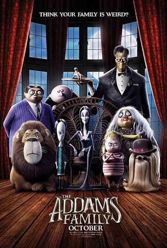 The Addams Family (2019) (iTunes only) (01/25)