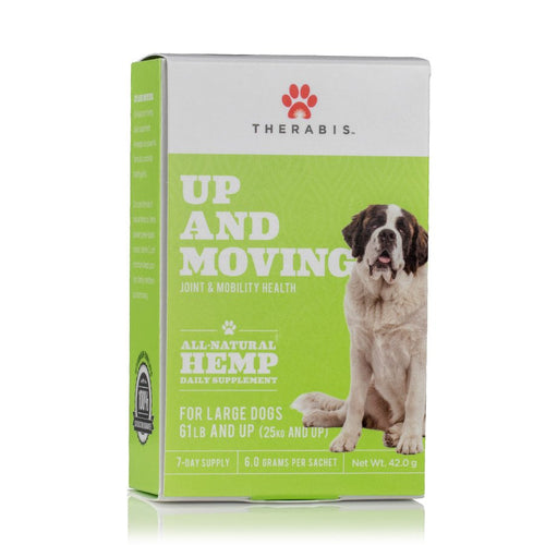 Up and Moving Therabis Hemp Pet Care