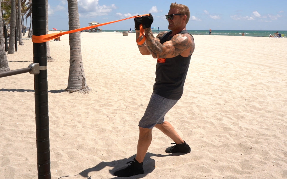 4 Resistance Bands Exercises For Bigger Arms Undersun Fitness