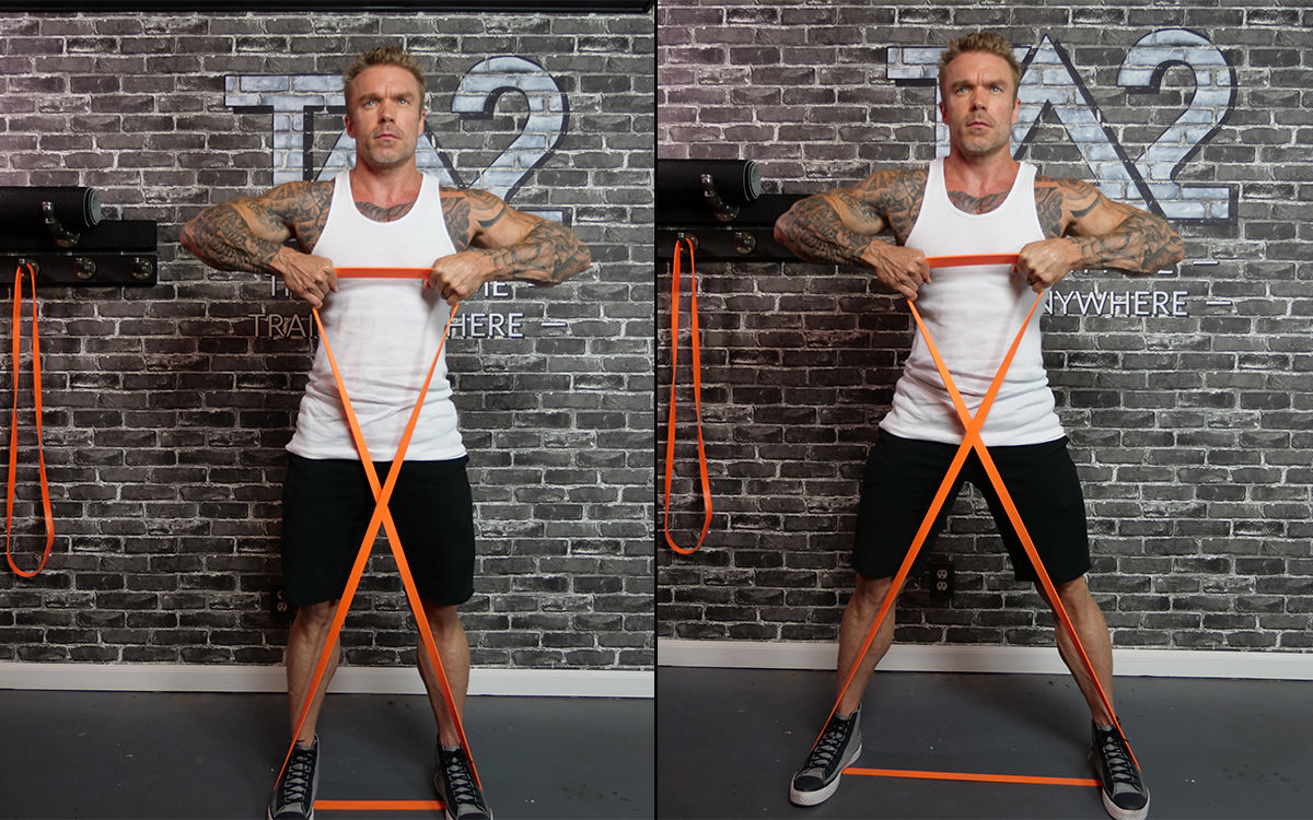 Awesome 15 Minute Resistance Bands Workout Undersun Fitness